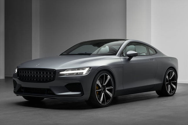 Les prototypes de la Polestar 1 entrent en production
