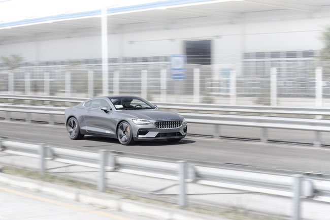 La Polestar 1 bientôt en production