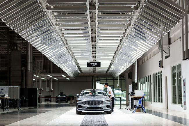 Polestar 1 : production lancée en Chine