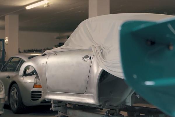 Porsche : le Project Gold se dévoile