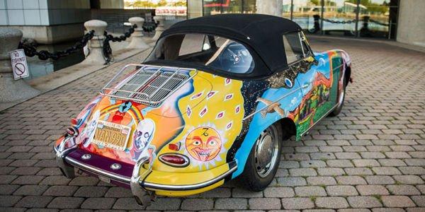 Vente record pour la Porsche de Janis Joplin