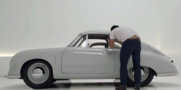 L'une des 1ères Porsche 356 en vidéo