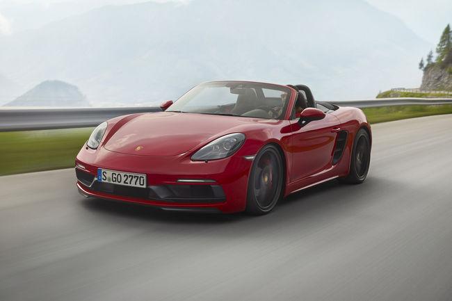 Nouvelles Porsche 718 Boxster et Cayman GTS