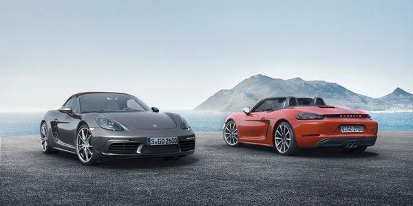Nouveaux Porsche 718 Boxster et Boxster S