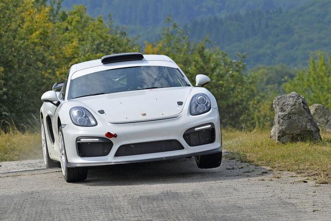 Concept Porsche Cayman GT4 Clubsport Rallye