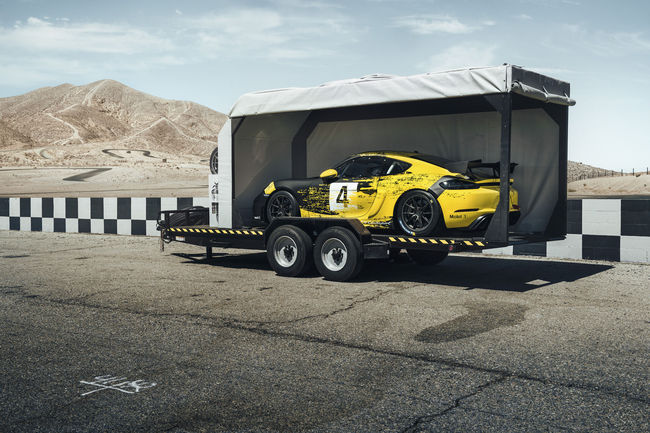 Nouveau Porsche 718 Cayman GT4 Clubsport