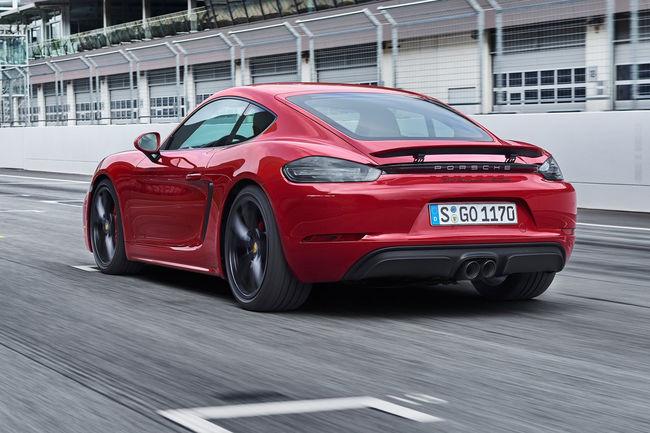 Futur Porsche 718 Cayman GT4 : 420 ch attendus