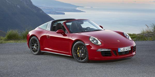 Porsche présente sa 911 Targa 4 GTS à Detroit