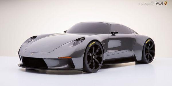 Ege Arguden réinvente la Porsche 911