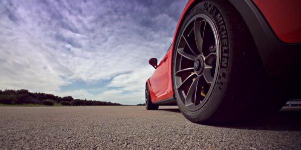 La Porsche 911 GT3 RS sur la piste de Nardo