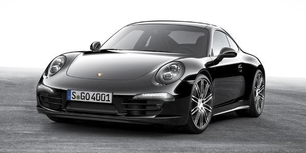 Porsche Boxster et 911 Carrera Black Edition