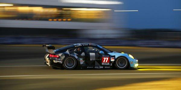 Le Mans : Patrick Dempsey sur le podium GTE-Am