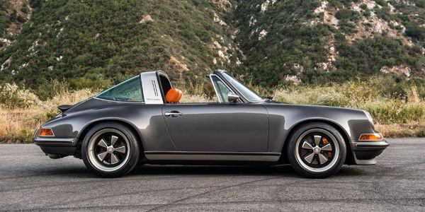 Singer réinvente la Porsche 911 Targa