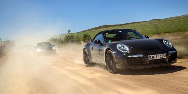 Porsche 911 restylée : premières images officielles