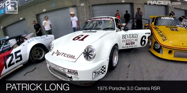 Onboard : Porsche 911 RSR 1975 à Laguna Seca