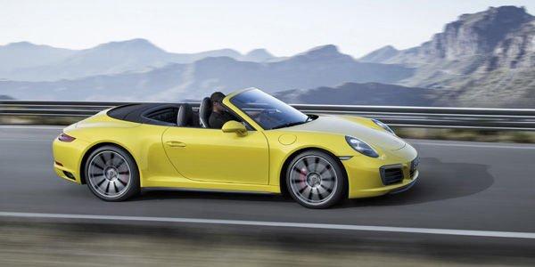 Plus de puissance pour les Porsche 911 Carrera 4 et Targa 4
