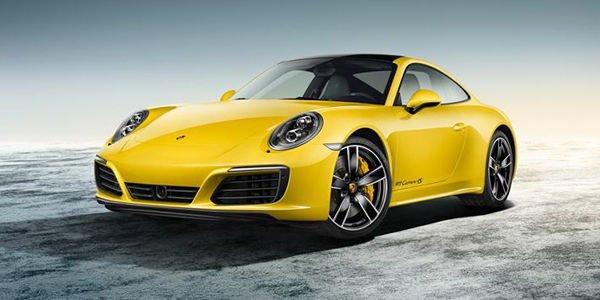 Porsche 911 Carrera 4S Racing Yellow par Porsche Exclusive