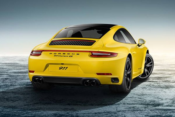 porsche 911 carrera 4s racing yellow par porsche exclusive actualit automobile motorlegend. Black Bedroom Furniture Sets. Home Design Ideas