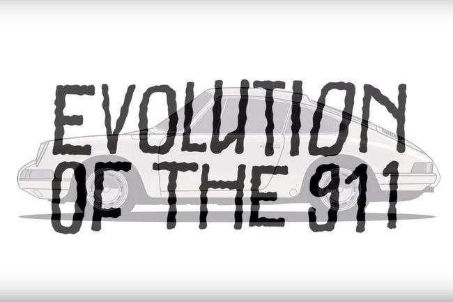Animation : 53 ans de Porsche 911