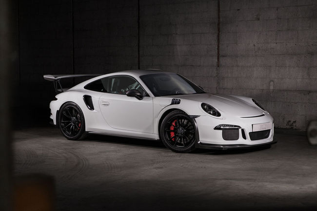 Un Pack carbone pour la Porsche 911 GT3 RS TechArt