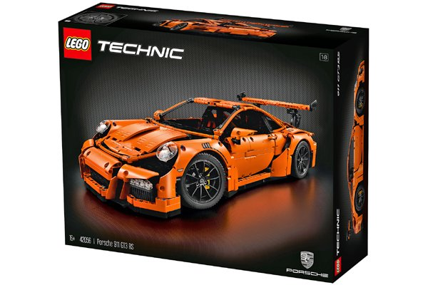 Lego : une Porsche 911 GT3 RS en approche