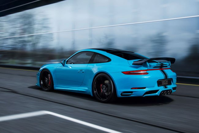 TechArt booste les Porsche 911 Carrera S et 911 Turbo S
