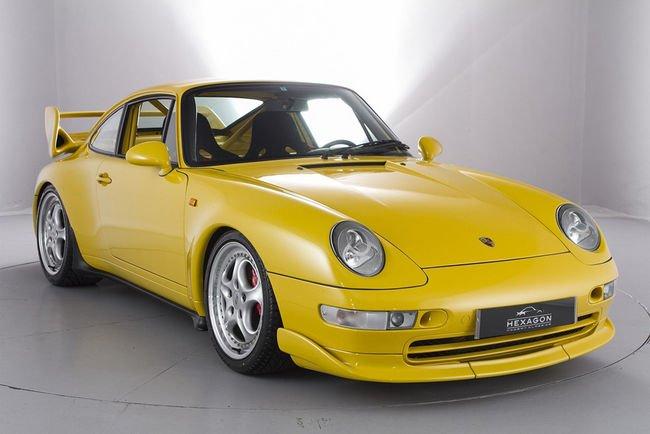 A vendre : Porsche 911 (993) RS Clubsport de 1995