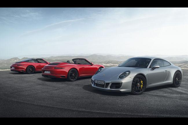 Porsche 911 GTS : restylage et nouveau moteur