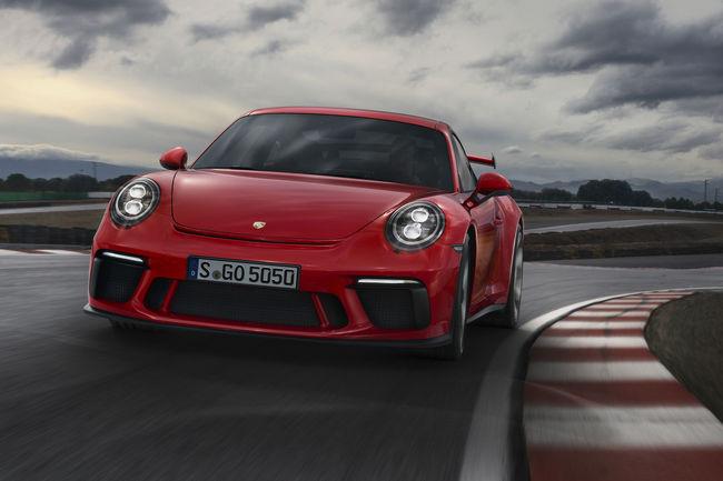 Genève : nouvelle Porsche 911 GT3