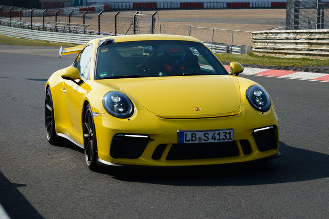Tour embarqué sur le Nürburgring en Porsche 911 GT3 2017