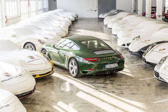 Porsche passe le cap du million de 911 produites