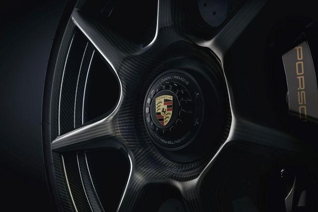 Des roues en carbone pour la Porsche 911 Turbo S Exclusive Series