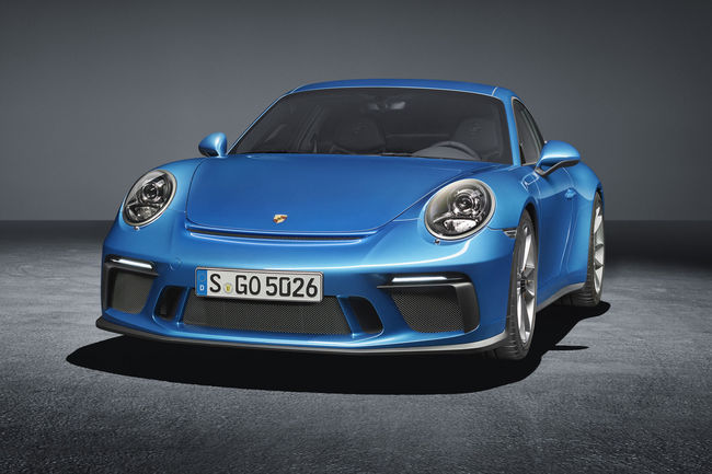 Francfort : Porsche 911 GT3 Touring Package