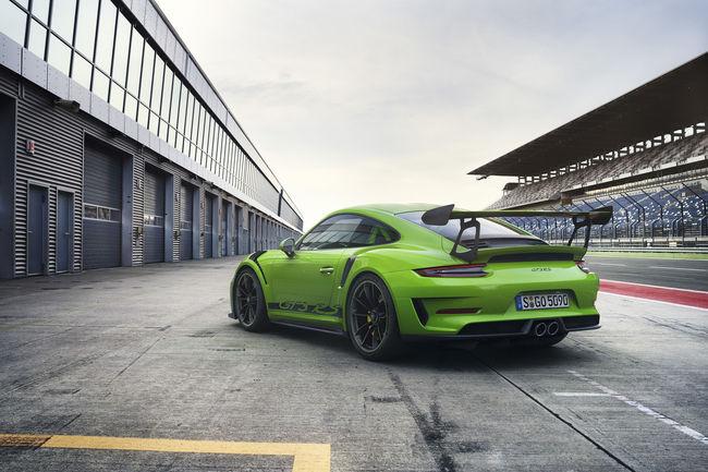 Porsche lève le voile sur la nouvelle 911 GT3 RS