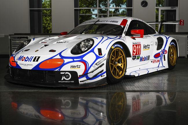 Deux Porsche aux couleurs historiques à Petit Le Mans