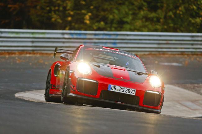 La Porsche 911 GT2 RS MR nouvelle reine du Ring