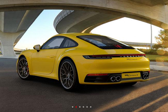 Configurez votre future Porsche 911 (992)