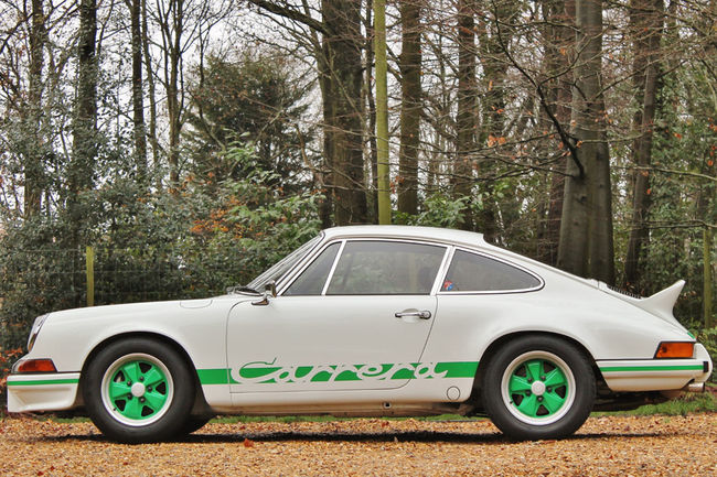 Silverstone Auctions : Porsche 911 Carrera RS 2.7 de 1973