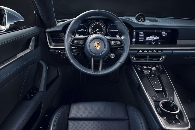 Découvrez l'intérieur de la nouvelle 911 (992)