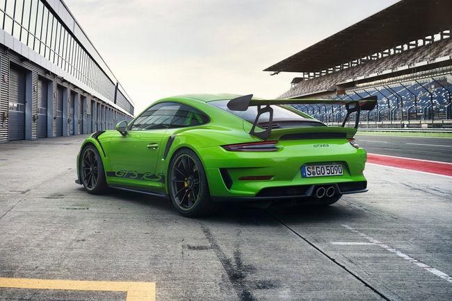 La future Porsche 911 (992) GT3 RS se précise