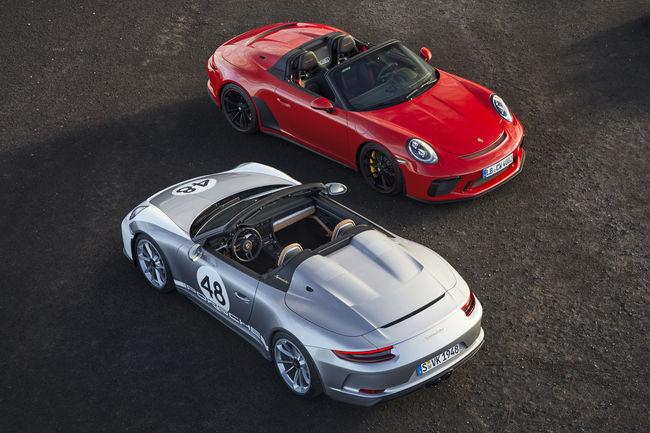Porsche 911 Speedster : à partir de 269 274 euros