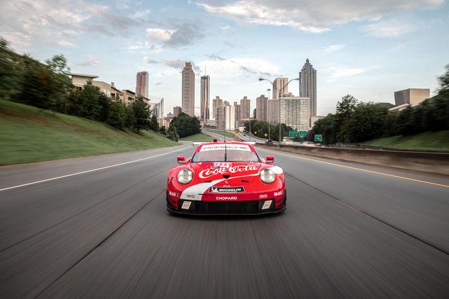 Endurance : livrée spéciale pour la Porsche 911 RSR