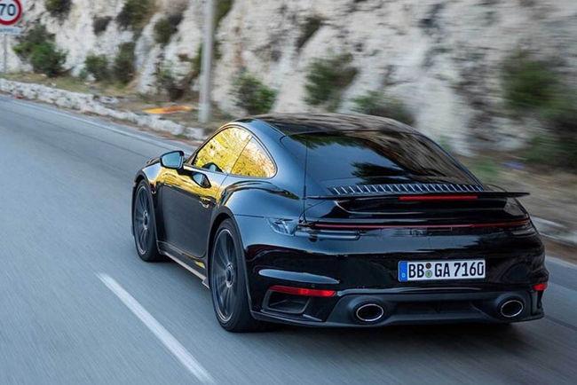 La nouvelle Porsche 911 Turbo se dévoile