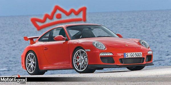 Porsche GT3 : Sportive de l'année 2009