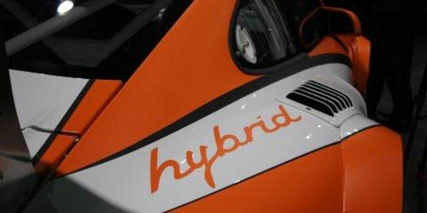 Salon de Genève : Porsche GT3 R Hybride