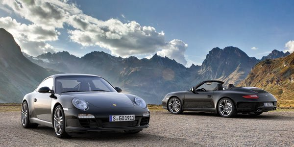 Porsche 911 Black Edition, so black