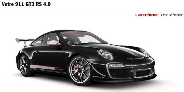 Configurez votre 911 GT3 RS 4.0