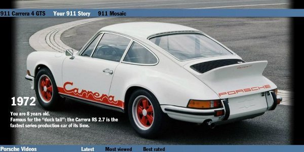 Porsche: your 911 story
