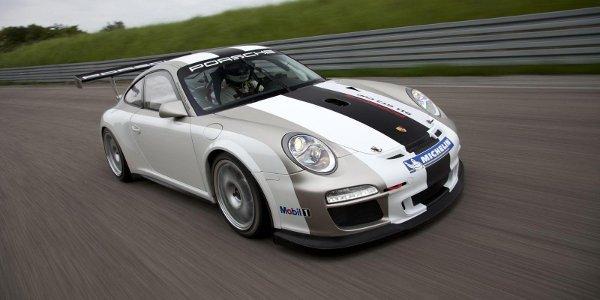 Porsche présente la 997 GT3 Cup 2012