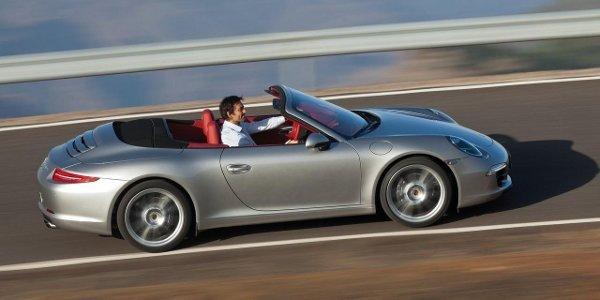 Nouvelle Porsche 911 Cabriolet (991)